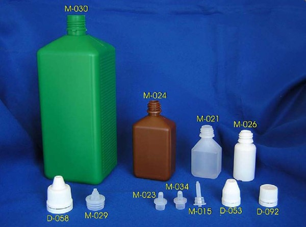 Yliko 36 Bottles For Liquids With Dropper Inlay